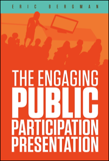 Cover of the book, The Engaging Public Participation Presentation
