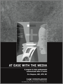 At Ease With the Media booklet cover